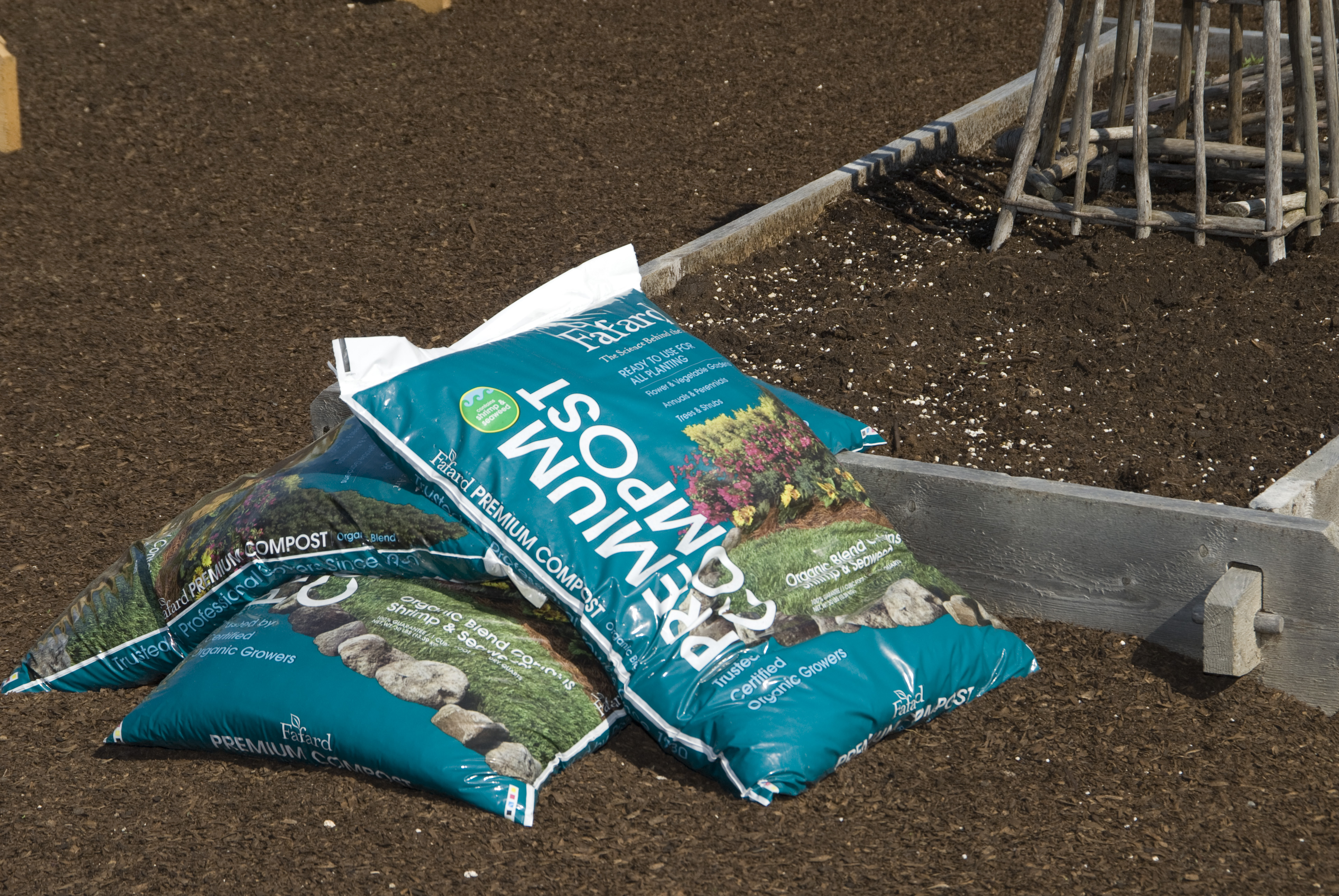 Container gardening white flower farms blog bags of compost use a lightweight high quality potting soil and mix workwithnaturefo