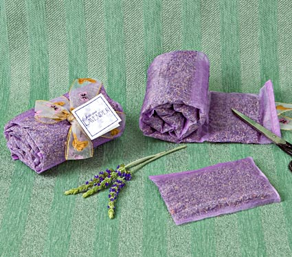 Lavender Sachets by the Yard